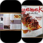 """""""yemek zevki"""" Dergisi Ekim KöşemiKaçıranlara"""