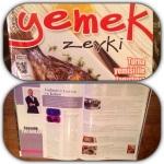 """""""yemek zevki"""" Dergisi Kasım KöşemiKaçıranlara"""