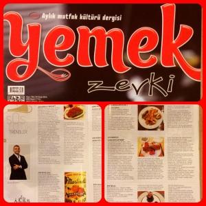 Ocak 2014 - Yemek Zevki
