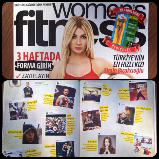 womens fitness - Mayıs 2014