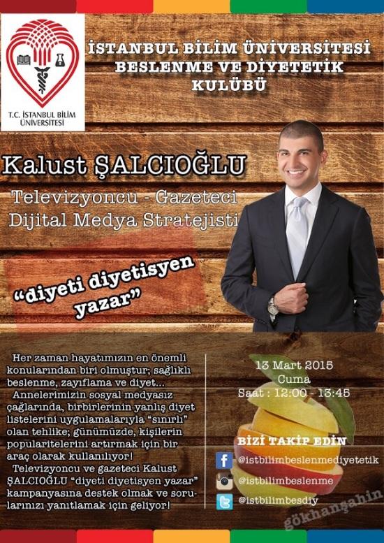 İSTANBUL BİLİM ÜNİVERSİTESİ BESLENME VE DİYETETİK KULÜBÜ 0001