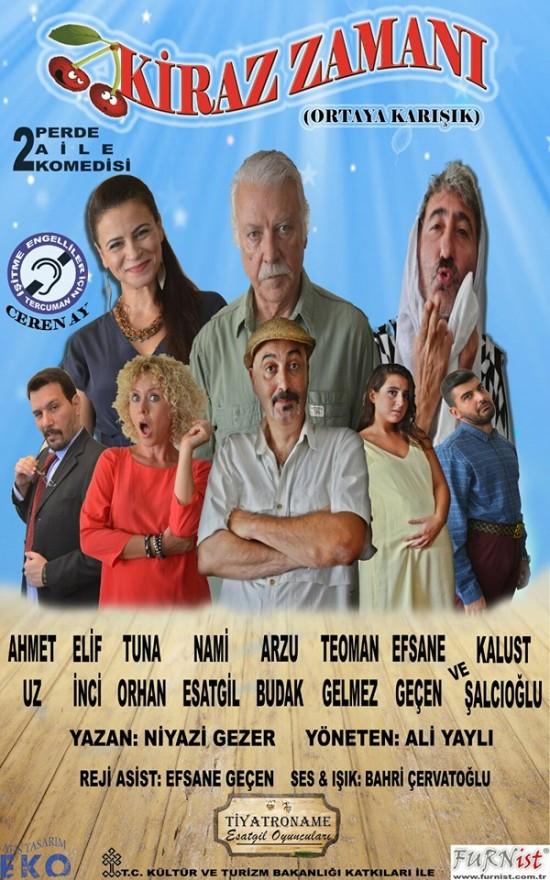 Tiyatro - 16 Ekim 2015 - Mecidiyeköy Gazanfer Özcan ve Gönül Ülkü Sahnesi
