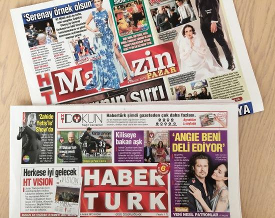 6 Aralık 2015 - HaberTürk - HT Magazin - 01