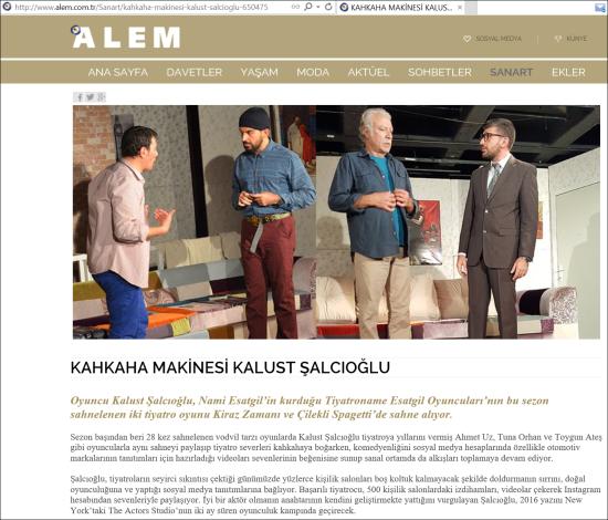 Alem Dergisi - 21.12.2015