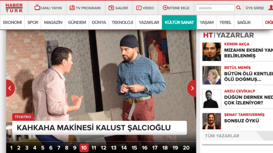 HaberTürk - Kültür Sanat - 24 Aralık 2015