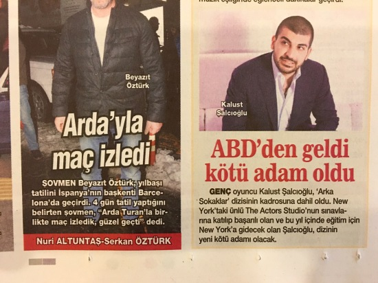HABERTURK - HT Magazin - Arka Sokaklar ve The Actors Studio - 02
