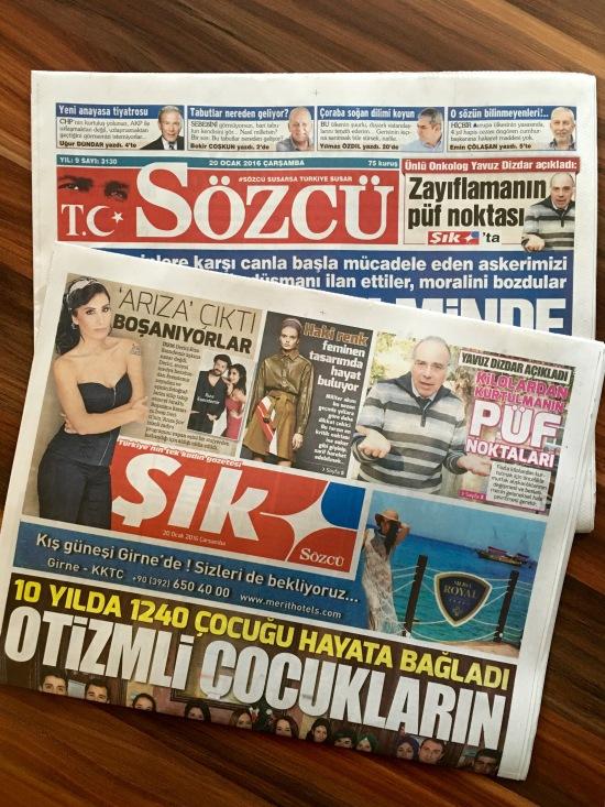 SÖZCÜ - ŞIK - 20.01.2016 - ARKA SOKAKLAR - 01