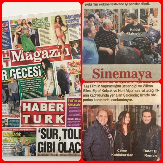 01.02.2016 - Habertürk Gazetesi - HT Magazin Eki - 01