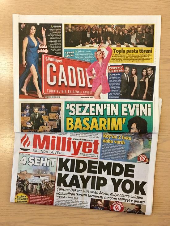 28.01.2016 - Milliyet Cadde 01