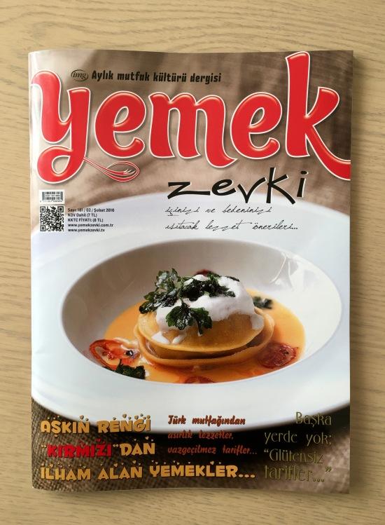 Yemek Zevki Dergi - Şubat 2016 - Sinema Haberim 01