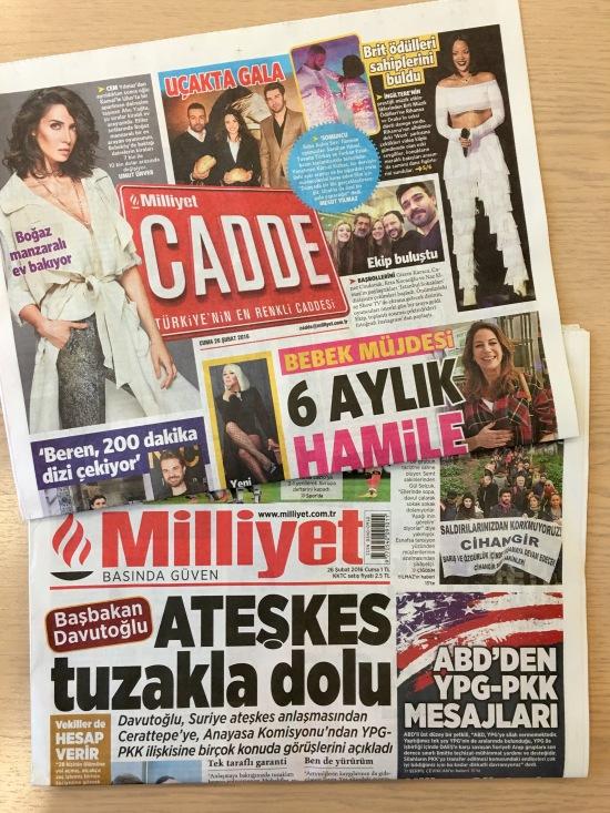26.02.2016 - Milliyet Cadde 01
