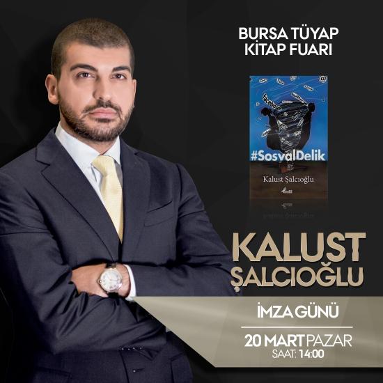 Kalust Şalcıoğlu - Bursa Tüyap Kitap Fuarı - 20 Mart 2016 - İmza Günü 01