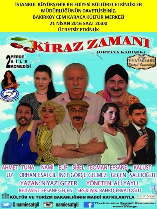 Tiyatro - 21 Nisan 2016 - Bakırköy Cem Karaca Kültür Merkezi 01