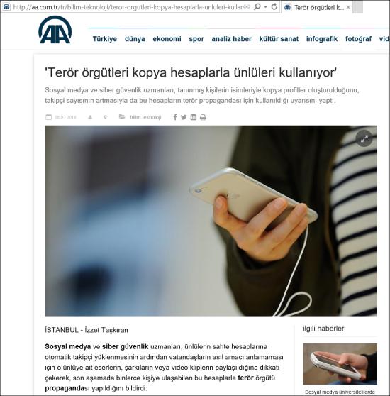 08.07.2016 - Anadolu Ajansı 01