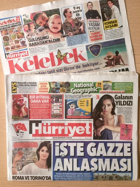 21.06.2016 - Hürriyet Kelebek 01