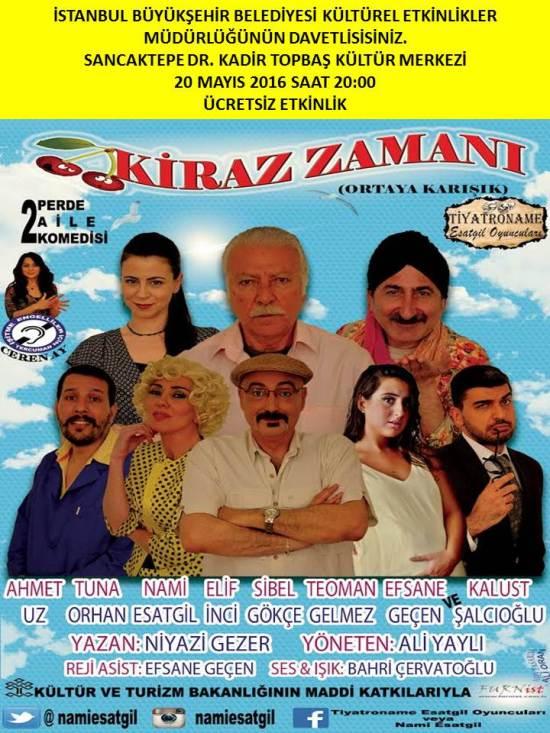 Tiyatro - 20 Mayıs 2016 - Sancaktepe Dr. Kadir Topbaş Kültür Merkezi 01