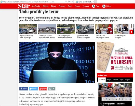08.07.2016 - Star Gazetesi 01